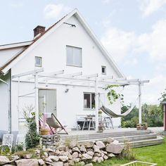 En lättbyggd pergola till uteplatsen – Hus & Hem