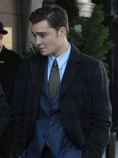 He's Chuck Bass: See His Sexiest Smolders