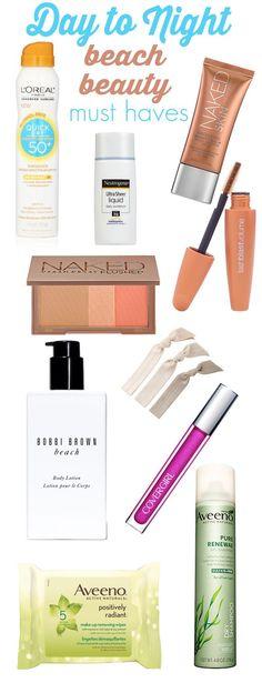 honeymoon essentials inspiraito | beach beauty | vacation beauty | makeup packing list |