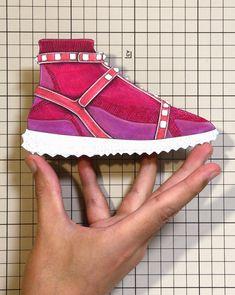 "38e83674b0e Shoes:00826 ""VALENTINO"" Rockstud Sneaker(Resort 2018)"