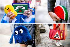 倫敦時裝週街拍特搜 時尚潮人的俏皮包款大集合