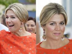 King Willem Alexander and Queen Maxima of The Netherlands visited the probation in Aruba on May 2, 2015.