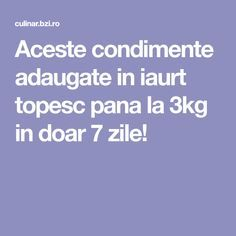 Aceste condimente adaugate in iaurt topesc pana la in doar 7 zile! Pallet Vanity, Jewelry Rack, 1001 Pallets, Vanity Set, Metabolism, Health Fitness, Healthy Recipes, Coffee Tables, Exercise