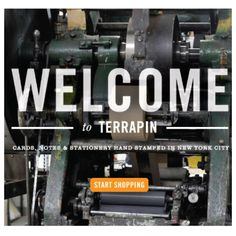 Terrapin Stationers creates the finest engraved stationery, all Made in America for personal, corporate, weddings, invitations and more. Terrapin, Made In America, Hand Stamped, New York City, Stationery, Nyc, Division, Prints, Cards
