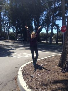 Join us, take a stand & do a #tree pose against #deforestation..like today's participant Margaret Stevens!