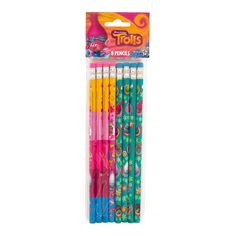 Bring your Trolls mania to school or a Trolls birthday party with these Trolls No 2 Pencils. For Trolls themed party supplies, shop Michaels.com.