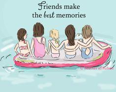 The Heather Stillufsen Collection from Rose Hill Designs Soul Sisters, True Friends, Best Friends, Rose Hill Designs, Sister Cards, Best Friend Quotes, Cards For Friends, Summer Art, Best Memories