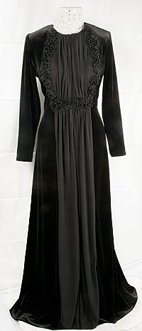 Angelica Modest Hostess Gown - RAZA Designs 60074c3d47d2