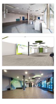 Sportwerk 56 - Kursraum, Sport Objektplanung mit 3D Visualisierung Lichtkonzept, Tapetendesign, Akustiklösungen Desktop Screenshot, 3d, Sport, Design, Acoustic, Environment, Deporte, Sports