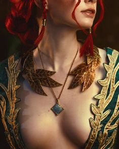 ~Triss Merigold~ This week I'm planning to post something new - my non-cosplay photos without any wigs but just with my natural hair 🌿… Witcher Triss, Witcher Art, Ciri, The Witcher 3, Triss Cosplay, Triss Merigold Cosplay, Concept Clothing, Girl Face Drawing, Greek Mythology Art