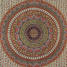 Indian Wall Hanging Tapestry Mandala Tapestry Hippie Tapestry Queen Bedspread #Traditional Bohemian Room Decor, Mandala Tapestry, Tapestry Wall Hanging, Bed Spreads, Creative Inspiration, Beach Mat, Outdoor Blanket, Indian, Traditional