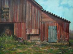 red barn paintings - Google Search