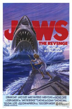 Jaws: The Revenge movie poster # jaws 4