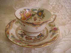 cup & saucer antique