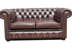 chesterfield leather sofa bed Leather Sofa Bed, Sofa Bed Decor, 2 Seater Sofa, Chesterfield Chair, Accent Chairs, Decor Ideas, Furniture, Home Decor, Upholstered Chairs
