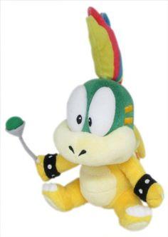 Little Buddy Super Mario Serie Lemmy Koopa Plsch Adventskalender Baby Super Mario Bros, Super Mario All Stars, Super Nintendo, Mario Toys, Mario Bros., Nintendo Characters, Movie Characters, Plush Dolls, Doll Toys