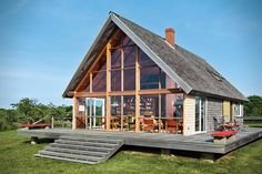 Jens Risoms Block Island Family Vacation Home 5