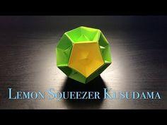 [Hello Malinda] Origami Tutorial: Lemon Squeezer Kusudama (Tomoko Fuse)|折纸教程:【哈喽玛琳达】柠檬花球(布施知子) - YouTube