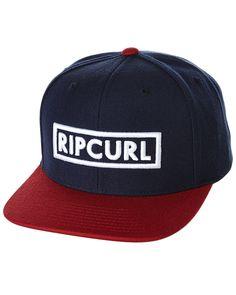 Rip Curl Undertow Box Snapback Cap Blue Cotton 257c411623f