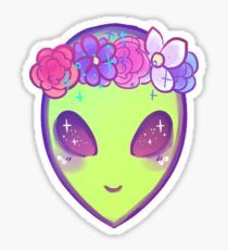 cool alien Sticker