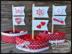 Stampin Up Blog Post Erica Cerwin_crb2, Sweetheart Treat Bags
