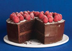Chocolate and Raspberries, the BEST flavor profile :)  http://www.bonappetit.com/recipes/2010/06/chocolate_raspberry_layer_cake