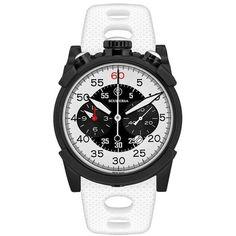 f994d719b02 Relogio esportivo masculino CT Scuderia Dirt Track branco e preto e  pulseira de silicone branco