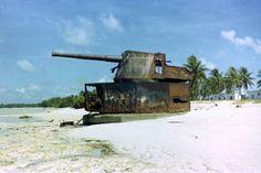 Big gun on Tarawa.