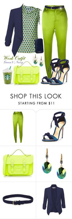 """""""Work outfit"""" by liligwada ❤ liked on Polyvore featuring Haider Ackermann, Tome, Alexandre Birman, The Cambridge Satchel Company, Otazu, Lauren Ralph Lauren and Aspinal of London"""