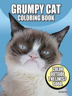 Grumpy Cat Coloring Book Dover Books For Children By