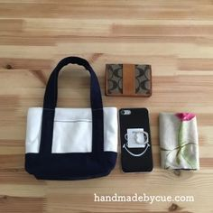 ちょっとそこまでバッグが便利でかわいい!帆布で作るミニトートバッグ | ハンドメイドで楽しく子育て handmadeby.cue