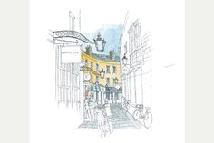 Cambridge: The Watercolour Sketchbook looks at the city through the eyes of artist Graham Byfield
