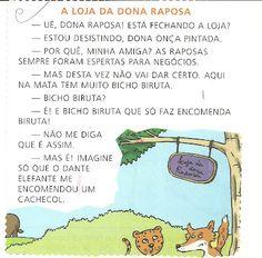 Textos para o 1º ano - Ficha de Leitura