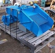 30in x 48in syntron vibrating pan feeder. Type F-45B-DT. C/W addtional 16 inch grizzly section and controller. Unit sold refurbished complete with controller New and Used Vibrating Pan Feeders for Sale. Savona Equipment is a vibrating grizzly feeder supplier worldwide for complete aggregate, recycling, mining, and sawmill operations. A vibratory feeder is an electro-mechanical instrument that uses vibration to transport (feed) material to a process or machine.