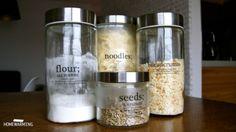 jar labels - my second DIY project