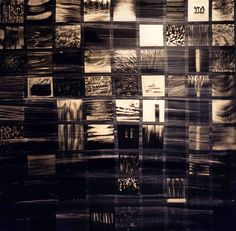 Night Landscapes 2009, Acrylics on wood, 170x170cm