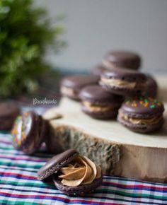 Macarons: ¡Cinco Ideas de Relleno para Chuparse los Dedos! – Macs con Crema de Almendras y Nutella