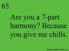 Theatre kid pick up lines ;)