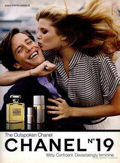 Chanel ad, 1980