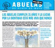 EL SITIO DE LAS ABUELAS DE PLAZA DE MAYO => http://www.abuelas.org.ar/