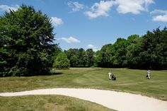 Golven bij de Keppelse Golfclub, Hoog-Keppel