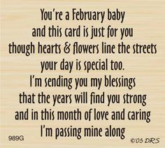 February Birthday Greeting - DRS Designs