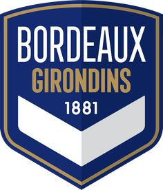 Bordeaux captured its first league championship since 1950 in the 1983–84 season finishing equal on points with Monaco, however, due to having a better head-to-head record, Bordeaux were declared champions. The next season, Bordeaux again won the league claiming the title by four points over second place Nantes. Soccer Logo, Sports Logo, Geometric Symbols, Big Letters, Blue Chevron, European Football, Abstract Lines, Logos, Meant To Be