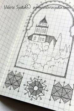 visual blessings: More Mini-Moleskine Travel Doodling