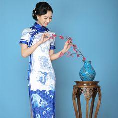 chinese dress prom dress fishtail            https://www.ichinesedress.com/