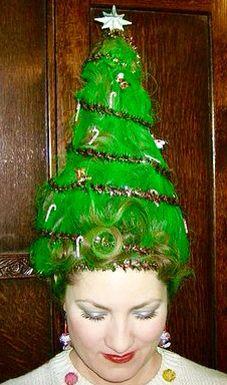 Christmas Hair.Pinterest