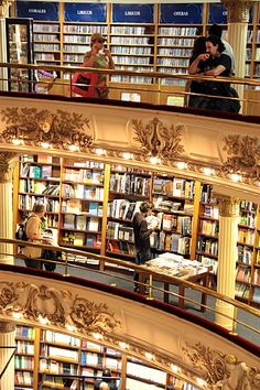 The Ateneo Grand Splendid Bookstore~Buenos Aires