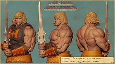HE-MAN bust by Gurjeet Singh   Fantasy   3D   CGSociety