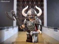 Custom LEGO Minifigure of the Week - Nordic Terror Lego Custom Minifigures, Lego Minifigs, Lego Minecraft, Lego Moc, Lego Star Wars, Star Wars Dark, Lego Soldiers, Lego Knights, Lego Army