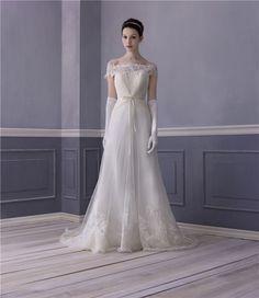 LM by Lusan Mandongus Wedding Dress. perfection.